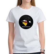 Flag Map of BRUNEI DARUSSALA Tee
