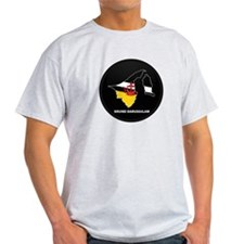 Flag Map of BRUNEI DARUSSALA T-Shirt
