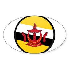 Brunei Oval Decal