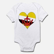 I Love BRUNEI DARUSSALAM Infant Bodysuit