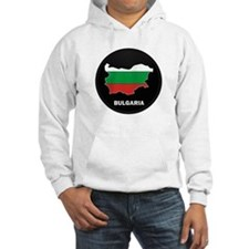 Flag Map of Bulgaria Jumper Hoody