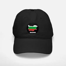 Flag Map of Bulgaria Baseball Hat