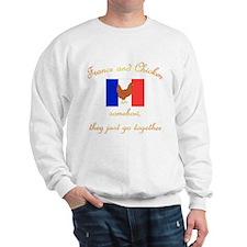 France and Chicken Sweatshirt
