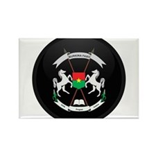 Coat of Arms of Burkina faso Rectangle Magnet