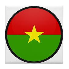Burkina Faso Tile Coaster