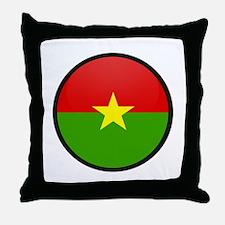 Burkina Faso Throw Pillow