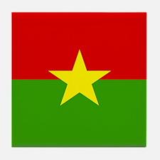 Burkinabe Tile Coaster