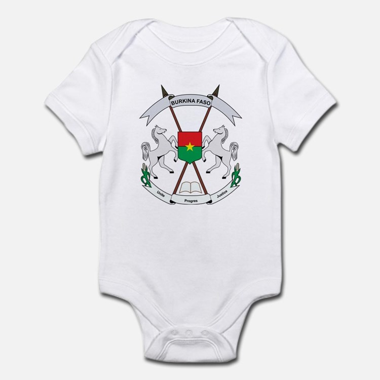 Burkina faso Coat of Arms Infant Bodysuit