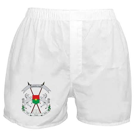 Burkina faso Coat of Arms Boxer Shorts
