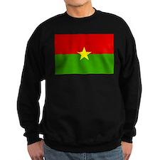 Burkina faso Flag Sweatshirt