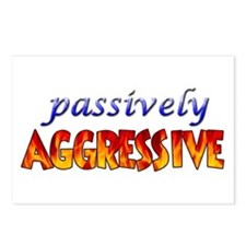 """""""Passively Aggressive"""" Postcards (Package of 8)"""