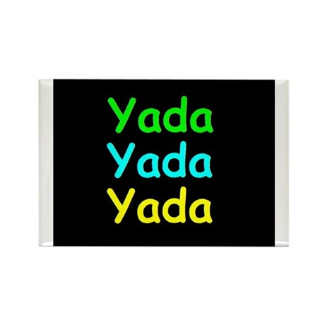 Yada Yada Yada Rectangle Magnet (10 pack)