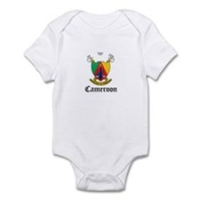 Cameroonian Coat of Arms Seal Infant Bodysuit