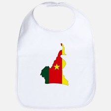 Cameroon Flag Map Bib