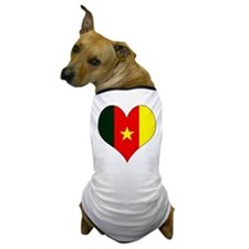I Love Cameroon Dog T-Shirt