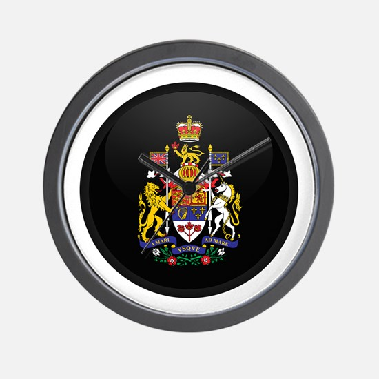 Coat of Arms of Canada Wall Clock