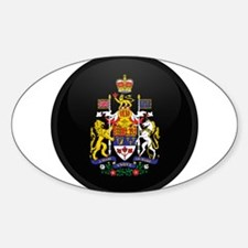 Coat of Arms of Canada Oval Bumper Stickers