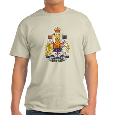 Canada Coat of Arms Light T-Shirt