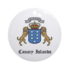 Canary Islander Coat of Arms Ornament (Round)