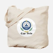Cape Verdean Coat of Arms Sea Tote Bag