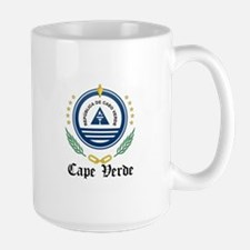 Cape Verdean Coat of Arms Sea Mug