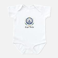 Cape Verdean Coat of Arms Sea Infant Bodysuit