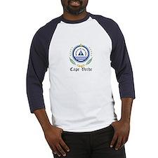 Cape Verdean Coat of Arms Sea Baseball Jersey