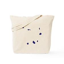 Cape Verde Flag Map Tote Bag