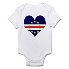I Love Cape Verde Infant Bodysuit