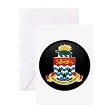 Coat of Arms of CAYMAN ISLAN Greeting Card
