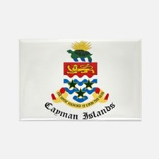 Caymanian Coat of Arms Seal Rectangle Magnet