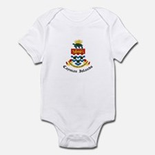 Caymanian Coat of Arms Seal Infant Bodysuit