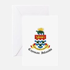 Caymanian Coat of Arms Seal Greeting Card