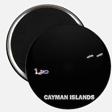Flag Map of CAYMAN ISLANDS Magnet