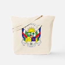 Central African Republic Coa Tote Bag