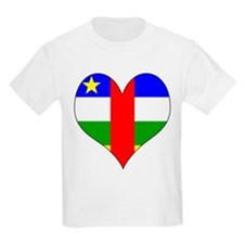 I Love Central African Repub T-Shirt
