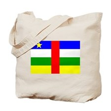 Central African Republic Fla Tote Bag