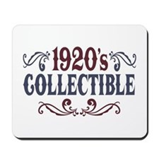 1920's Collectible Birthday Mousepad