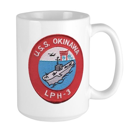 USS OKINAWA Large Mug