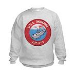 USS OKINAWA Kids Sweatshirt