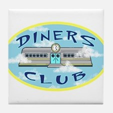 Diners Club - Tile Coaster