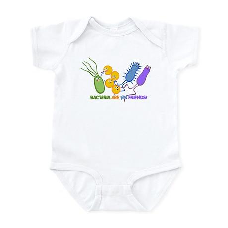 Bacteria are My Friends Infant Bodysuit