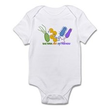 Bacteria are My Friends Infant Bodysuit