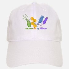 Bacteria are My Friends Baseball Baseball Cap
