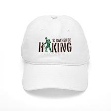 I'd Rather Be Hiking Baseball Baseball Cap