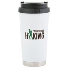 I'd Rather Be Hiking Travel Mug