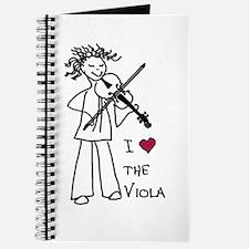 I Love (Heart) the Viola Journal
