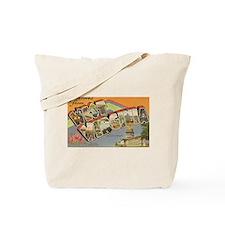 Greetings from West Virginia Tote Bag