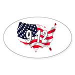 Oval Sticker (10 pk)
