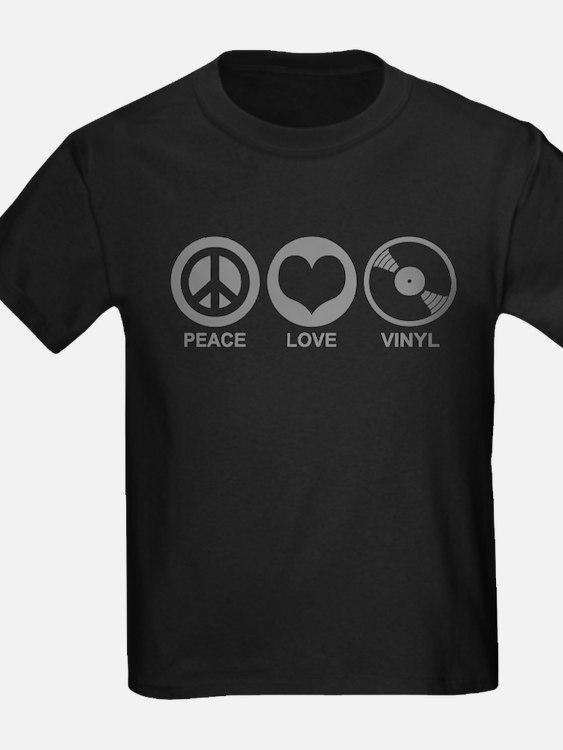 Peace Love Vinyl T